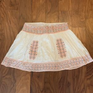Joie Embroidered Skirt